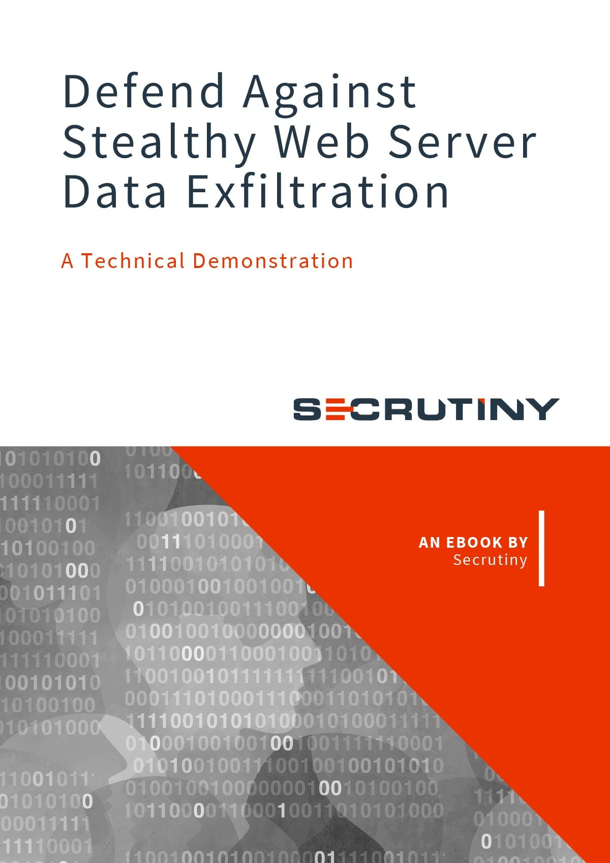 Secrutiny Cybersecurity - eBook - Defend Against Stealthy Web Server Data Exfiltration: A Technical Demonstration