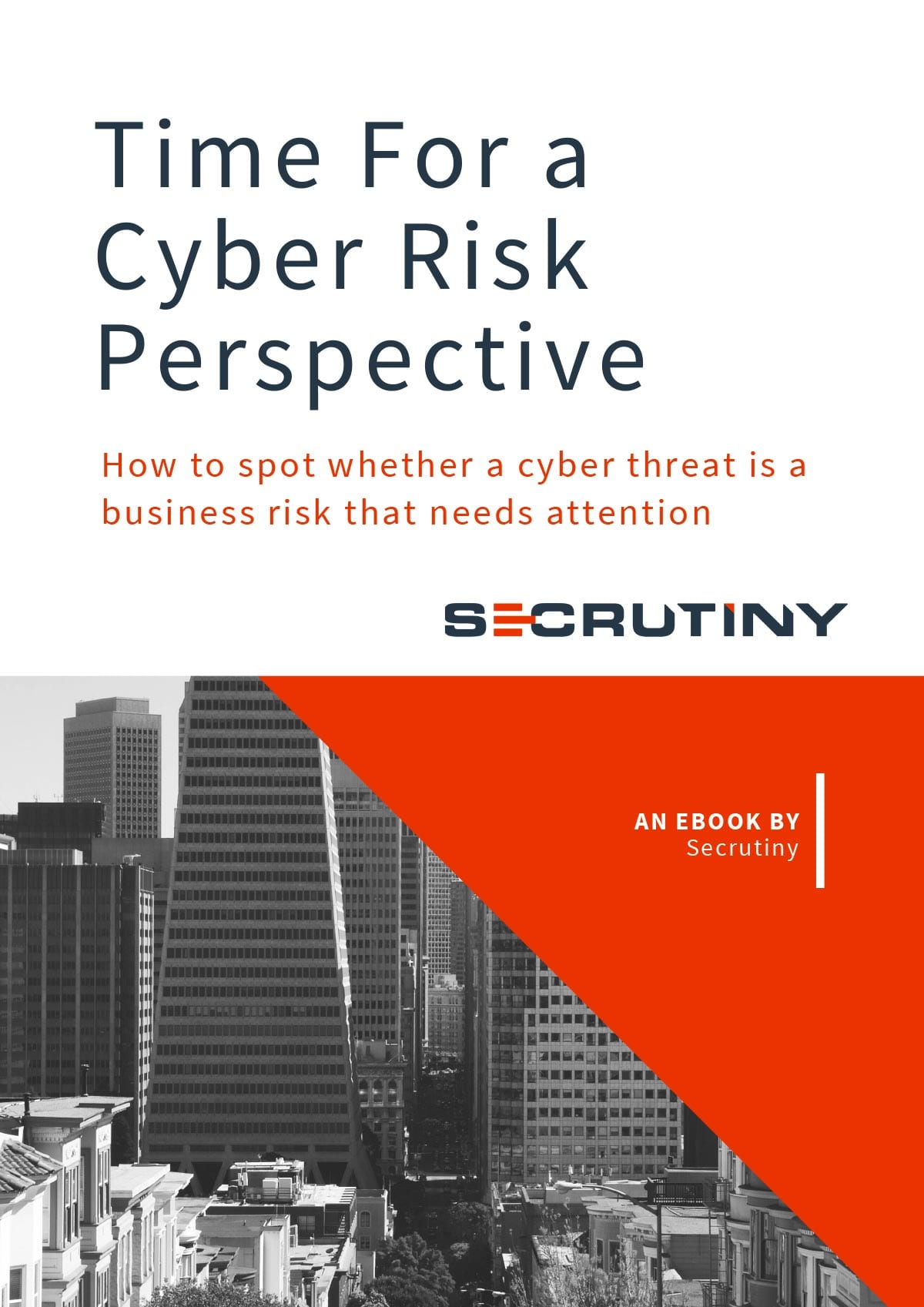 Secrutiny Cybersecurity - Whitepaper - Time for a Cyber Risk Perspective